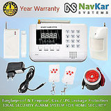 Auto - Dial GSM Based Burglar Alarm System For Home Security