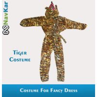 Tiger Costumes For Kids Fancy Dress Competition Small Size 4 - 7 Years