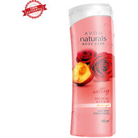 Naturals Red Rose Peach Shower Gel