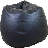 Orka XL Bean Bag (With Bean Filling) Black (Orka_194) With Free Mobile Pouch