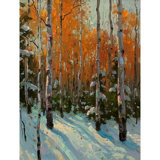 Vitalwalls Landscape Painting Canvas Art Print (Landscape-512-30Cm)