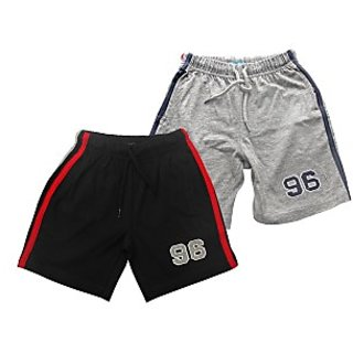 Juscubs 96 Shorts Black-Greymelange