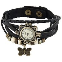 Vintage Butterfly Analog Watch - For Women - BEST GIFT FOR HER!