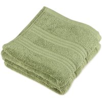 Saral Home Premium Quality Soft 100  Cotton Face Towel (SOC-411-GREEN)