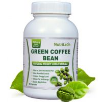 Nutrileon Green Coffee Bean Pure Extract For Weight Loss 800mg 60 Capsules