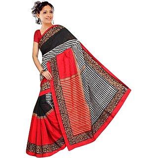 Muta Fashions In Vogue Bhagalpuri Sari