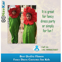 The Giggling Sun Flower Fancy Dress Costumes Large Size (L)
