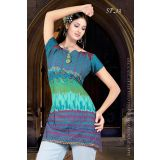 Designer Ready To Wear Cotton Print Kurti Sp13