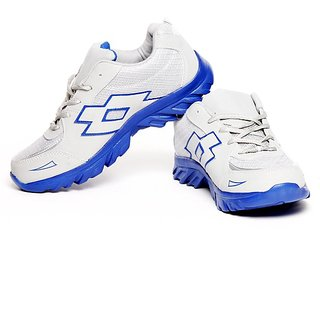 Gasser Cool Gray & Blue Sports Shoes