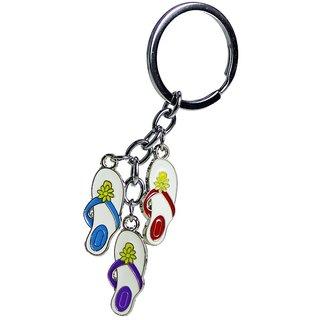 Funny & Stylish Slipper Shaped Trendy Key Ring/Key Chain