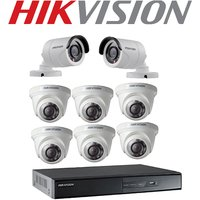 Hikvision DVR 10 Channel Home Security Camera