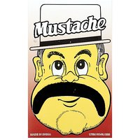 Funcart Single Stick On Moustache Design 6
