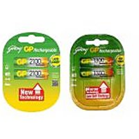 GODREJ GP COMBO OF 2100  1300 MAH RECHARGEABLE BATTERIES