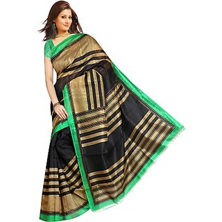 Muta Fashions Artistic Bhagalpuri Sari
