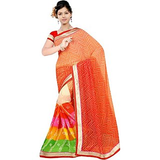 Muta Fashions In Trend Bhagalpuri Sari