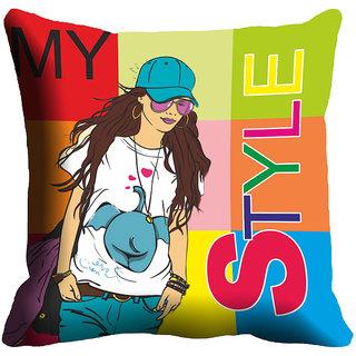 Mesleep Style Digitally Printed Cushion Cover