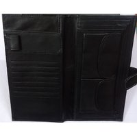 Executive Cheque Book And Credit Card Wallet Holder