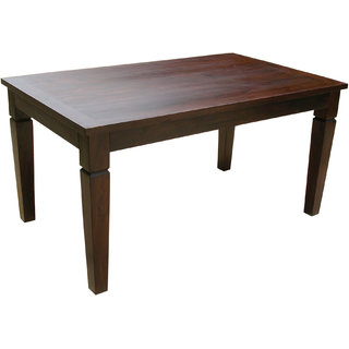 Wooden dining table available at shopclues for for Dining table price