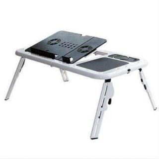 Folding Multi Purpose Portable Laptop Table with 2 USB Cooling fan available at ShopClues for Rs.575