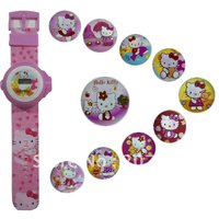 HELLO KITTY WATCH 24 IMAGE PROJECTOR WATCH GIFT TOY FOR KID