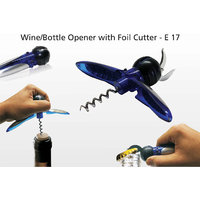 Wine Opener / Bottle Opener With Foil Cutter Free Home Delivery