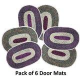 Pack Of 6 Door Mats BTH