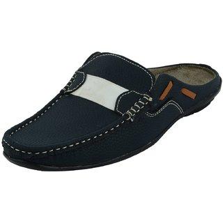 Mens Blue Slip on Sandals