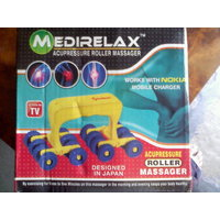 Medi Relax-Acupressure Roller Massager With Free Gift Of Eyeline Cool Mask-To Remove Dark Circle,SEEN ON TV