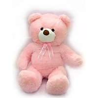 4 Foot Pink Teddy Bear Soft Stuffed Toy Big Size Huge Teddy Bear