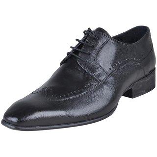 Franco Leone Men's Black Shoes - Design 14
