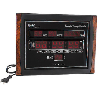 Ajanta LED Digital Wall Clock - OLC-104
