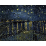 Vincent Van Gogh, Starry Night Over The Rhone- Giclee Print On Archival Paper