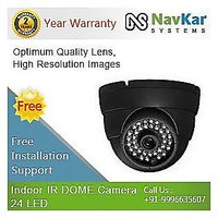 Indoor IR Dome Camera - 24 LED 420TVL 3.6MM Lens with 2 Year Warranty