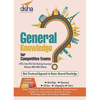G.K. for Competitive Exams - UPSC/PCS/ SSC/ Banking/ Insurance/ Railways/Defence