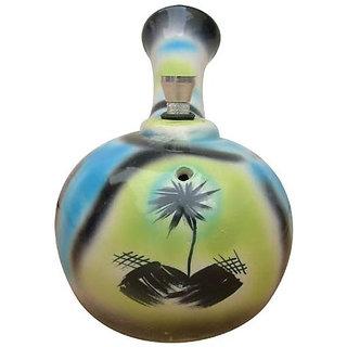 Moksha 7 Inch Tall Color sprayed ceramic water bong