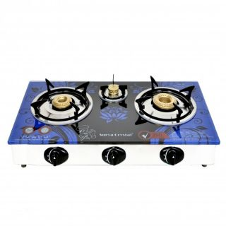 3 burner gas stove online shopping