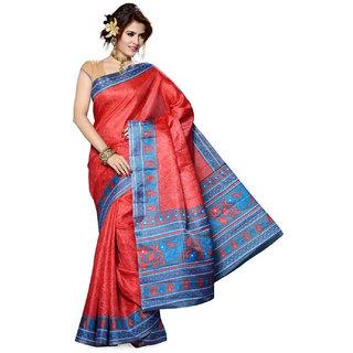 Mayka Somya Bhagalpuri Silk Saree
