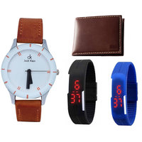 Combo of 3 Watches And  Wallet