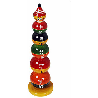 MNC Wooden Handicraft Lacquer Stacker(Round Ball)
