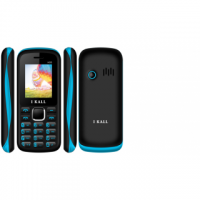 I Kall New K55 1.8 Inch Dual Sim Mobile ( Black  Blue )