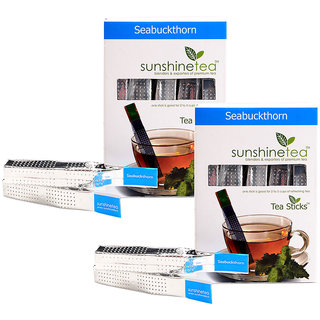 Sunshine Seabuckthorn Tea - 10 Tea Sticks (Set of 2)