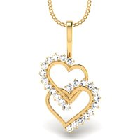 Mani Jewel 92.5 Sterlling Silver Pendant Valentine Collection (Design 21)