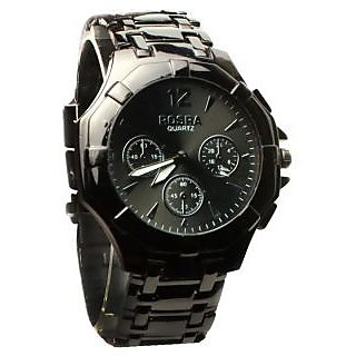 Rosra watch black