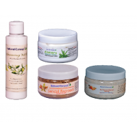 SP. OFFER - Facial Kit - (cleansing Milk + Facepack + Scrub + Massage Cream)
