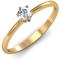 Mani Jewel 92.5Kt Sterlling Silver Certified Diamond Solitaire Ring Design-4