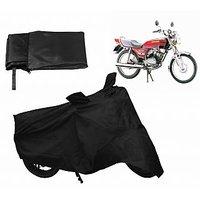 Relax Bike Body Cover For BAJAJ KB 4-S - Black