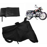 Relax Bike Body Cover For HERO SS/CD - Black
