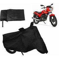 Relax Bike Body Cover For TVS STAR - Black