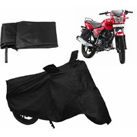Relax Bike Body Cover For TVS JIVE - Black