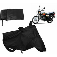 Relax Bike Body Cover For TVS MAX - Black